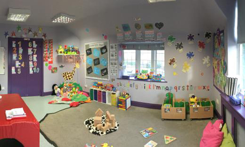 Northgate house - little dots room