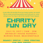 Charity Fun Day at Brindley House Nursery Beaconsfield
