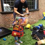 Firefighter parent visits nursery in Beaconsfield to talk about fire safety