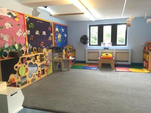 Rainbow Room in Brindley House Nursery in Beaconsfield